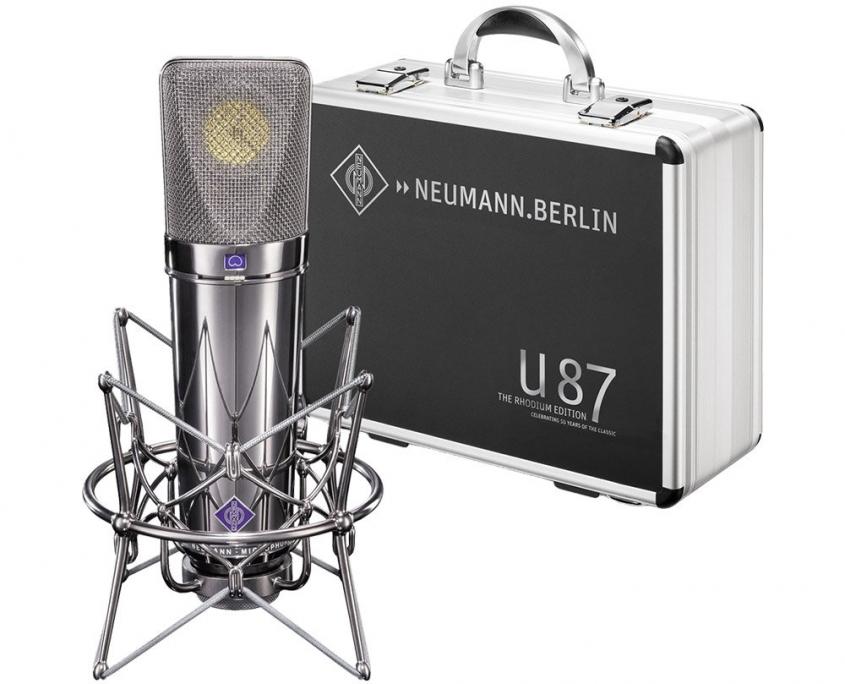 میکروفن U-87-Rhodium-Edition